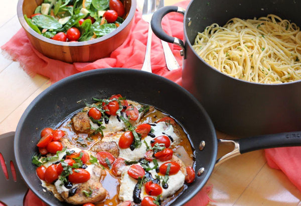 20 Minute Caprese Chicken