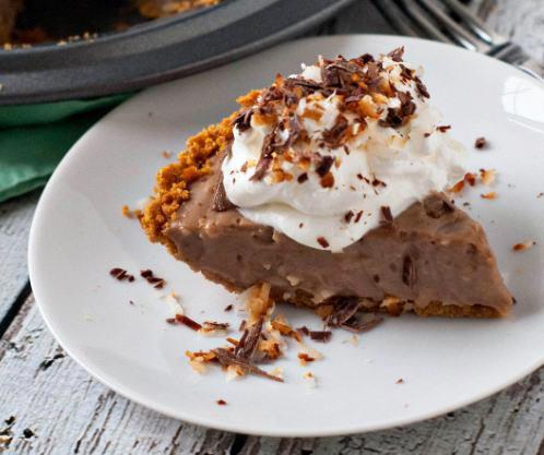 Milk Chocolate Coconut Cream Pie