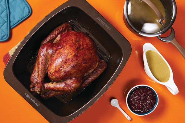 Cranberry-Dijon Glazed Turkey