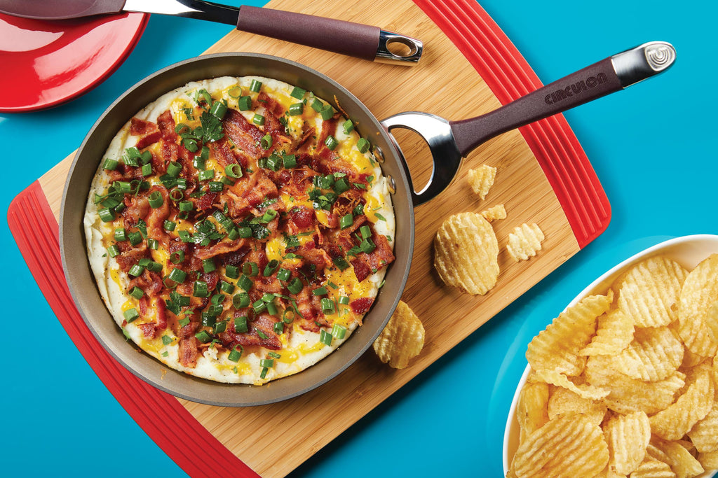 Loaded Mashed Potatoes Skillet