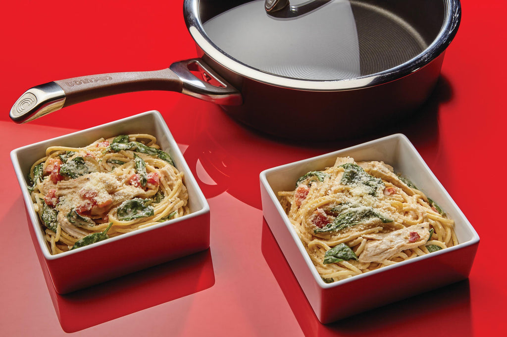 One-Pan Chicken Florentine Spaghetti