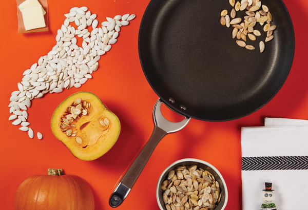 Skillet Toasted Pumpkin Seeds - Circulon