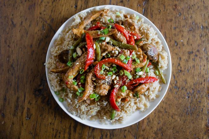 Spicy Garlic Pork Stir-Fry