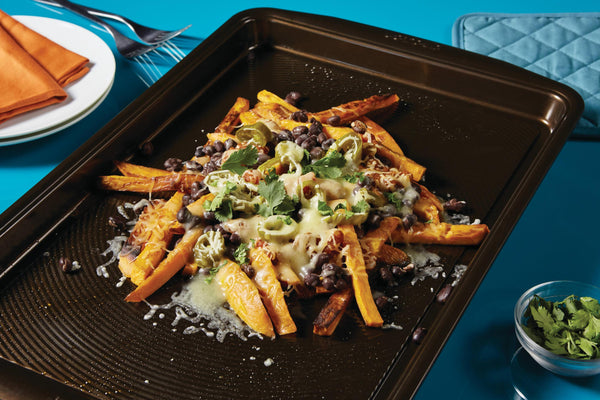 Sweet Potato Fries Nacho Mash-Up