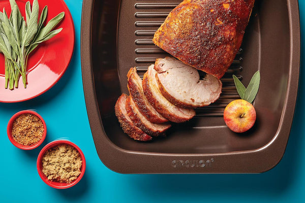 Roast Turkey Breast with Smoked Sea Salt and Brown Sugar Rub