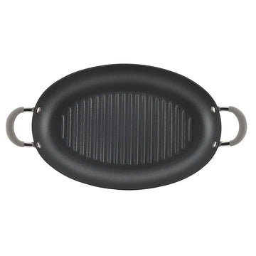 15-Inch Nonstick Oval Grill Pan