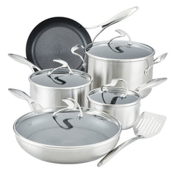 9 Piece Cookware Set and Utensil Set