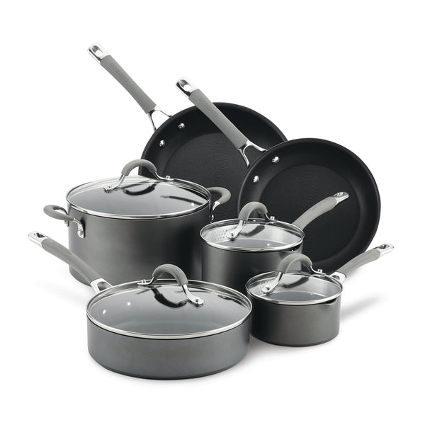 10-Piece Nonstick Cookware Set