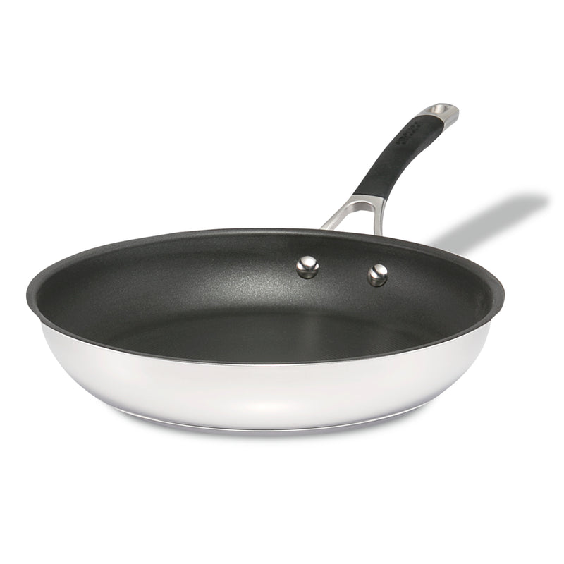 11.5-Inch Stainless Steel Nonstick Frying Pan