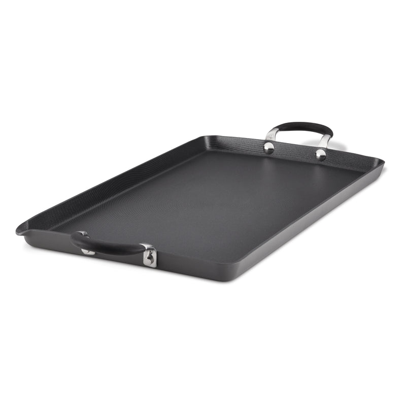 "18"" x 10"" Nonstick Double Burner Griddle"