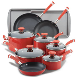 15-Piece Nonstick Cookware Set