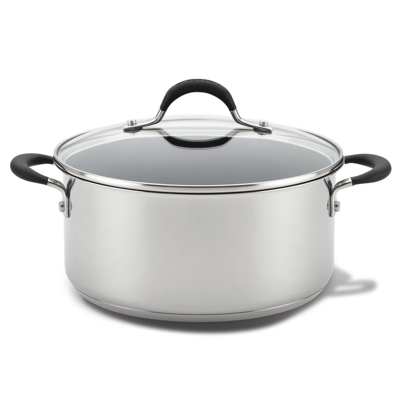 5-Quart Stainless Steel Nonstick Dutch Oven