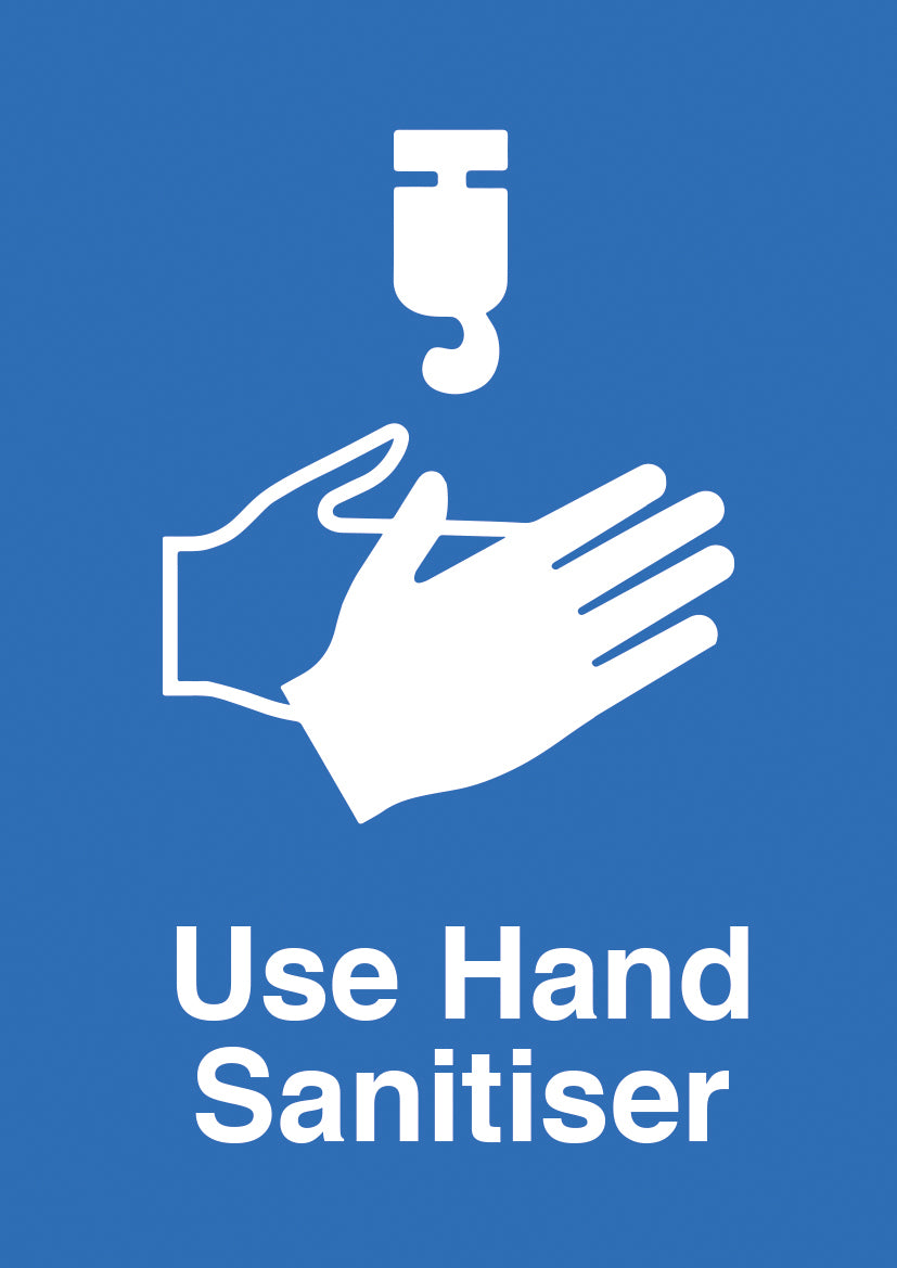 Use Hand Sanitiser PVC sign