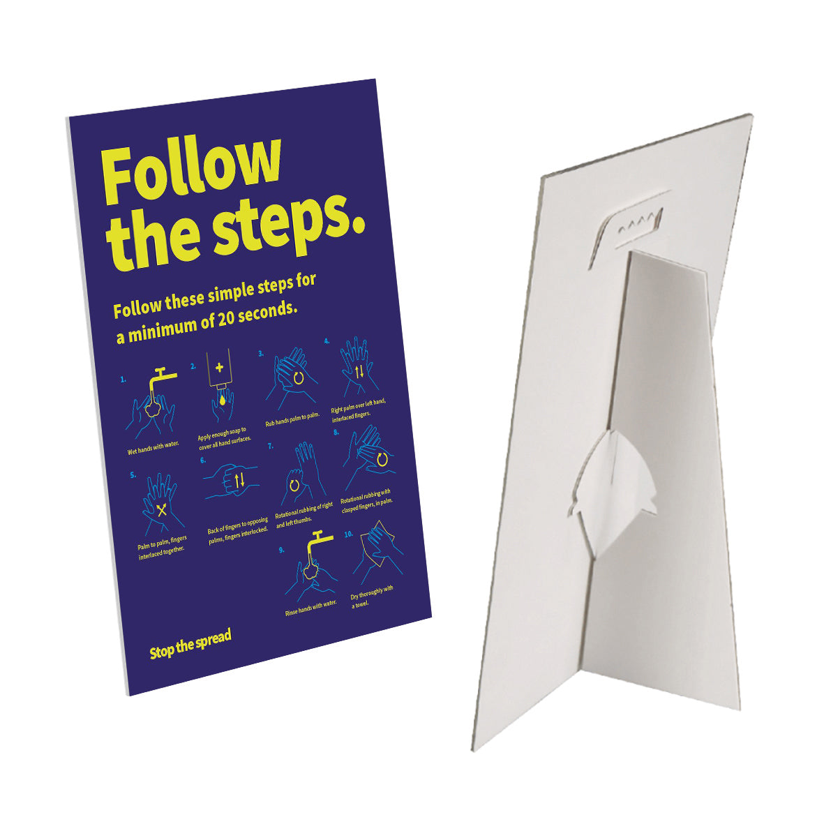 Follow the steps