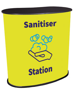 Sanitiser Station Yellow