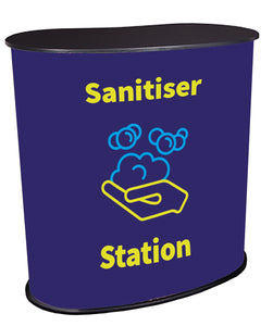 Sanitiser Station Dark Blue