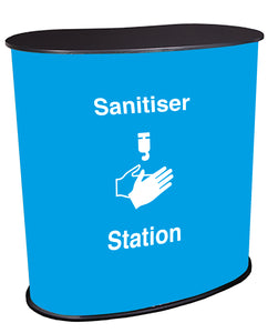 Sanitiser Station Light Blue