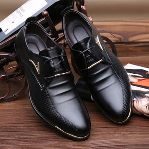 Men Formal Leather Luxury Shoes
