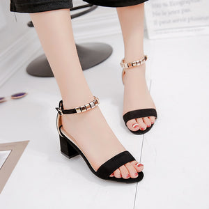 metal String Bead Summer Sandals