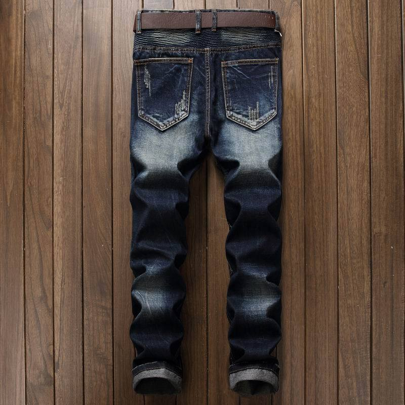 Fashion Men's Biker Jeans