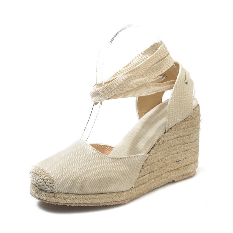 Women's Espadrille Ankle Strap Sandals