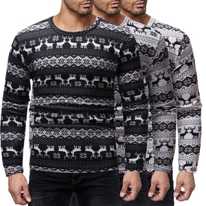 Mens O-Neck Sweaters Pullovers