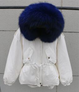 100% Natural Raccoon Fur Jacket