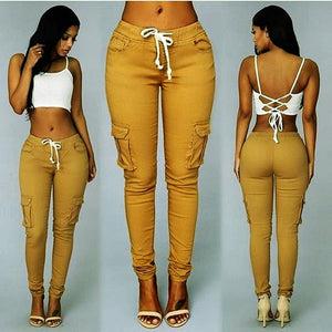 Elastic Sexy Skinny Pencil Jeans