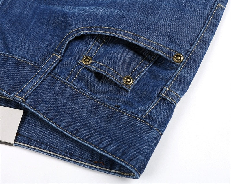 Thin Elastic Softening Jeans