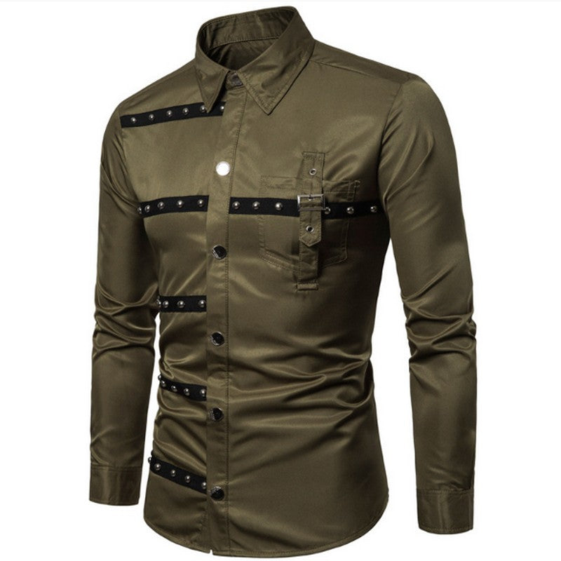 Men's Gothic Style Shirt