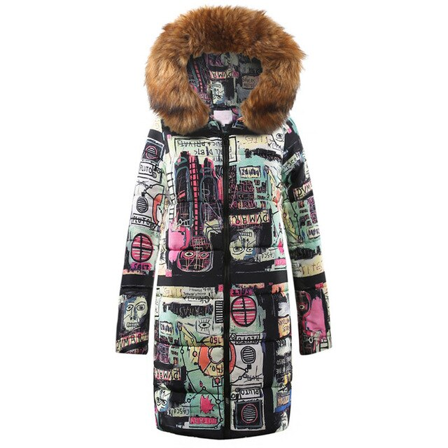 Women Cotton Parka Casual Coat