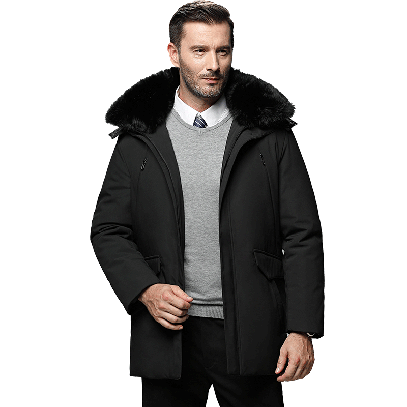New Russia winter men jacket