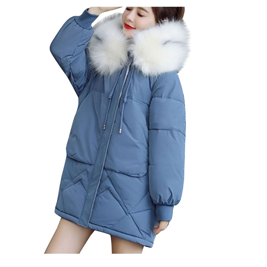Women Loose Thick  Down Coat