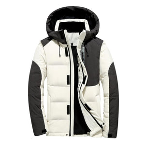 Pocket Button Thermal Leather Jacket