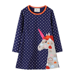 Princess Cotton Girls Dress