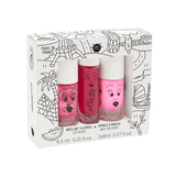Coffret 2 vernis + 1 rollette - World Tour