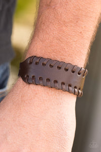 Paparazzi Rugged Roadways-brown