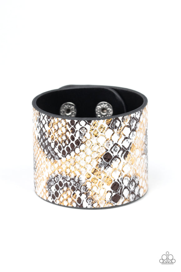 Paparazzi Serpent Shimmer-multi python wrap