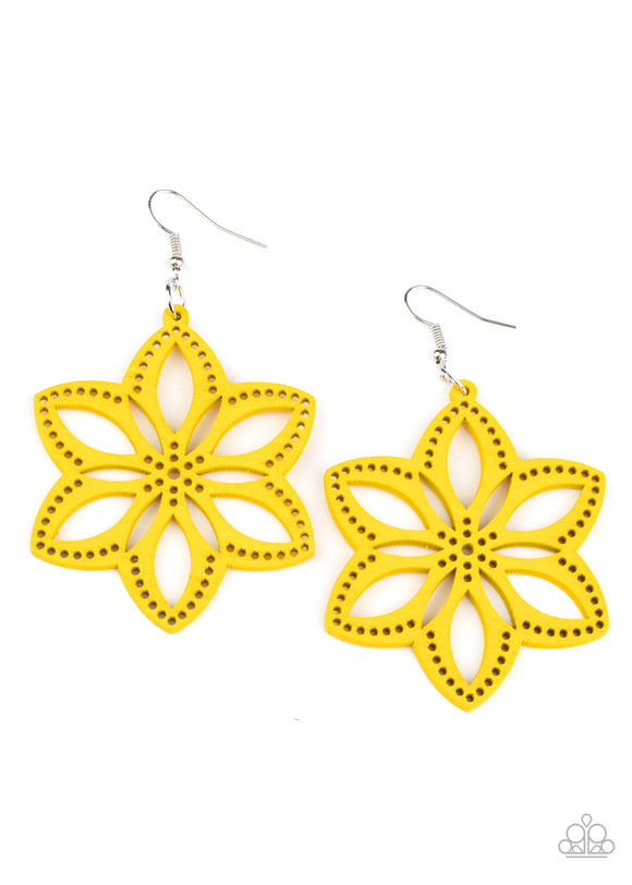 PRE-ORDER Paparazzi Bahama Blossoms-Yellow