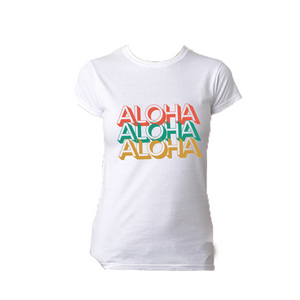 Aloha Graphic T Shirt