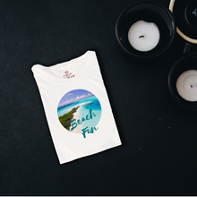 Load image into Gallery viewer, Beach Fun Graphic T Shirt