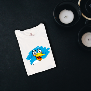 Angry bird blue Graphic T Shirt