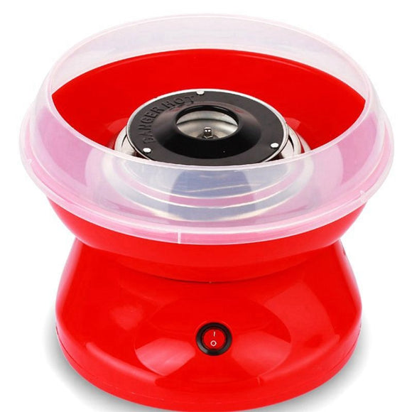 Eu Plug 220V Electric Cotton Candy Machine Sugar Cotton Candy Maker Party Diy Red