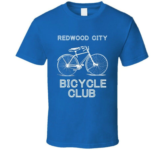 Redwood City Bicycle Club City T Shirt