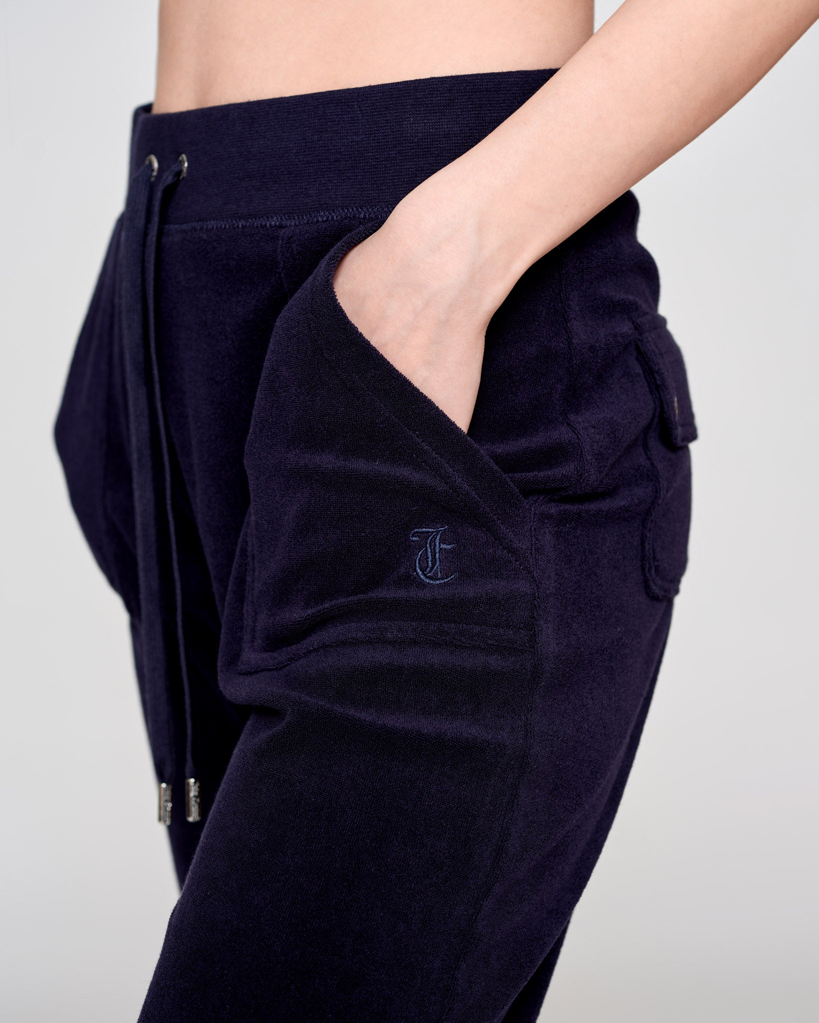 Del Ray Terry Towelling Pant Night Sky - Juicy Couture Scandinavia