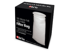 "Red Sea 100 micron Felt Fine Polish filter bag - 100(4"")/260(10.5"")"