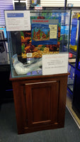 Marineland 60 Gal Reef Ready Cube Rimless, lids, stand & sump