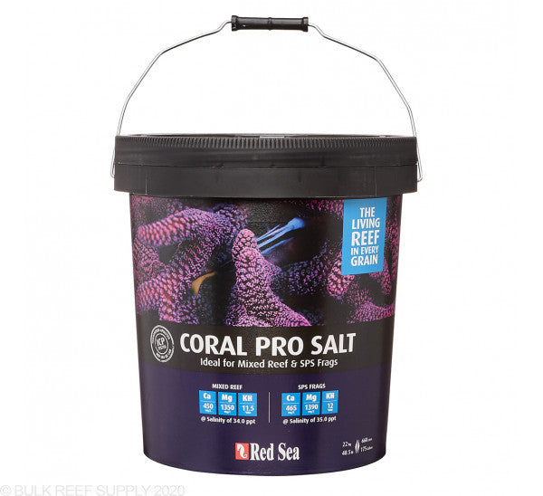 Red Sea Pro Coral Salt Mix (multiple size options)