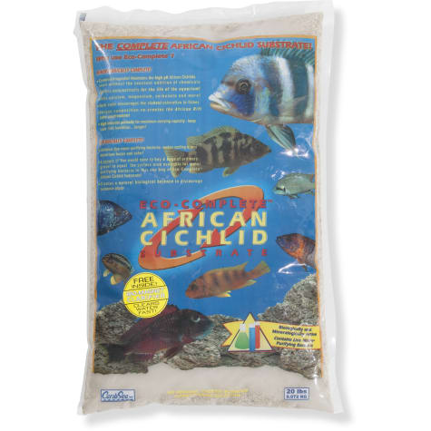 CaribSea Eco-Complete White Cichlid Sand