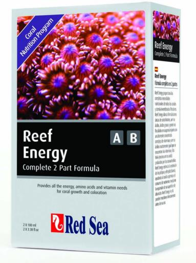 Red Sea Reef Energy A&B 2 Pk. 100 ml.